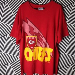 Vintage Kansas City Chiefs T Shirt football